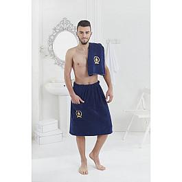 Комплект для сауны Karna Набор для сауны махровый мужской KARNA PAMIR, синий рюкзак мужской quiksilver everydaypostemb m eqybp03501 bng0 королевский синий