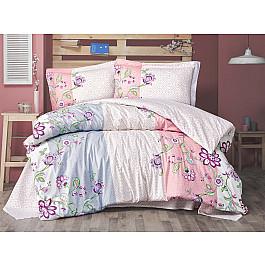 Постельное белье Altinbasak КПБ RANFORCE NEON JARDIN (Евро), розовый постельное белье altinbasak кпб ranforce neon karel евро розовый