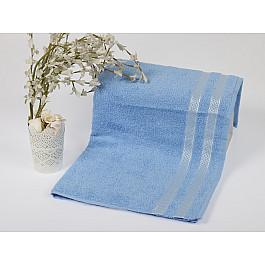 Полотенца Karna Полотенце махровое KARNA PETEK, голубой, 70*140 см полотенца william roberts полотенце банное aberdeen цвет queen shadow серо голубой 70х140 см
