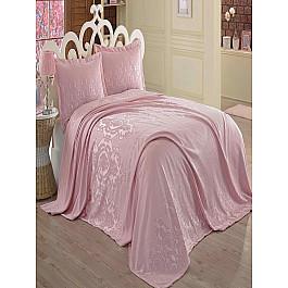 Покрывало Dantela Vita Покрывало Dantela Vita Sardunya, розовый, 260*260 см цена 2017