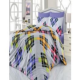 Постельное белье Cotton Life КПБ Cotton Life Smart (50*70/2 шт), лиловый ( 1.5 спальный) цена