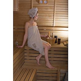 Фото - Комплект для сауны Karna Набор для сауны женский KARNA ARVEN, молочный сауны
