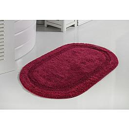 Коврик для ванной Modalin Коврик для ванной кружевной MODALIN RACET, бордовый, 60*100 см всё для ванной