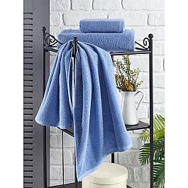 Полотенца Karna Полотенце махровое KARNA EFOR, голубой, 70*140 см полотенца william roberts полотенце банное aberdeen цвет queen shadow серо голубой 70х140 см