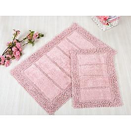 Коврик для ванной VESTA Pembe (розовый), 70*110 см