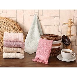 Наборы полотенец для кухни Karna Набор салфеток махровых жаккард