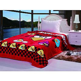 Плед Tango Плед детский Angry Birds №03, красный, 150*200 см