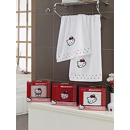 Комплект полотенец Hello Kitty (BAMBOO), белый
