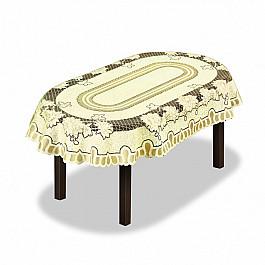 цена Скатерти Wisan Скатерть №226561-150, кремовый, золотой онлайн в 2017 году