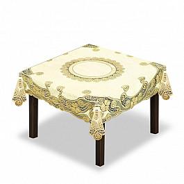 Скатерти Wisan Скатерть №230338-150, кремовый, золотой скатерть quelle эго 1024295 120х150