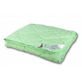 Одеяло Alvitek Одеяло Бамбук, всесезонное, зеленый, 200*220 см одеяло шелковое natures королевский шелк всесезонное 155х215 см
