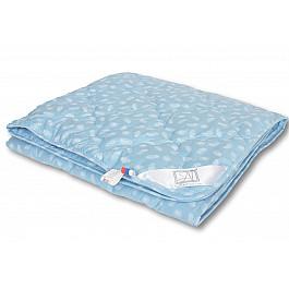 Одеяло Alvitek Одеяло Лебяжий пух, легкое, голубой, 140*205 см одеяло 1 5 сп лебяжий пух im