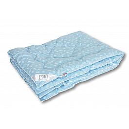 Одеяло Alvitek Одеяло Лебяжий пух, теплое, голубой, 140*205 см одеяло 1 5 сп лебяжий пух im