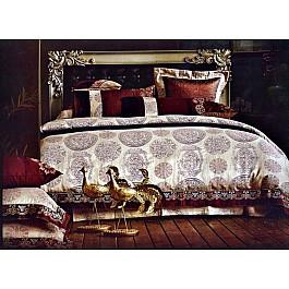 Постельное белье Tango КПБ Жаккард Сатин дизайн 02 (Евро) постельное белье tango постельное бельесп евро page 9