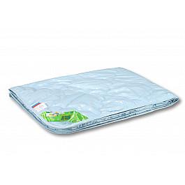Одеяло Alvitek Одеяло Лебяжий пух, легкое, голубой, 140*105 см одеяло 1 5 сп лебяжий пух im