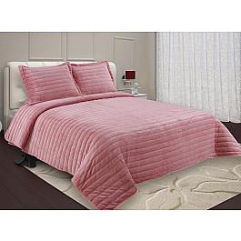 купить Покрывало Buenos Noches Покрывало Buenas Noches Velour с наволочками, розовый, 230*250 см по цене 4400 рублей
