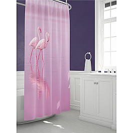 Штора для ванной TomDom Штора для ванной Фламин всё для ванной