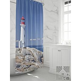 Штора для ванной TomDom Штора для ванной Алексид штора для ванной tomdom штора для ванной партол a