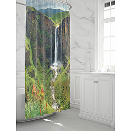 Штора для ванной TomDom Штора для ванной Фолито штора для ванной tomdom штора для ванной партол a