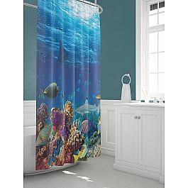 Штора для ванной TomDom Штора для ванной Оусэ штора для ванной tomdom штора для ванной партол a