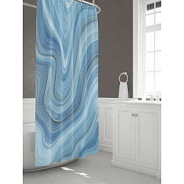 Штора для ванной TomDom Штора для ванной Лэйон штора для ванной tomdom штора для ванной партол a