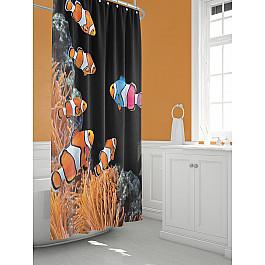 Штора для ванной TomDom Штора для ванной Флорб-A штора для ванной tomdom штора для ванной партол a