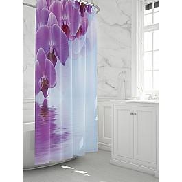 Штора для ванной TomDom Штора для ванной Орхис штора loskutclub