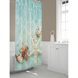 Штора для ванной TomDom Штора для ванной Дипо всё для ванной