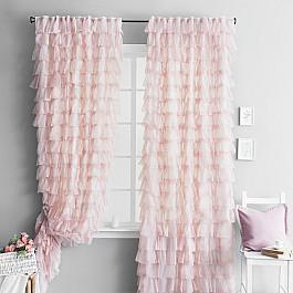 Шторы для комнаты Molly Комплект штор Илона Розовый, 140*260 см комплект штор witerra тергалет 10709 голубой 140 260 см