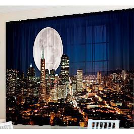 Фотоштора Zlata Korunka Фотошторы для кухни Лунный свет лунный свет