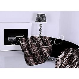 Покрывало Tango  меховое Zarina brown, коричневый, 220*240 см
