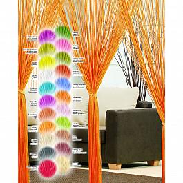 цена на Шторы нити Кисея нитяная штора Haft, фиолетовый, 250*200 см