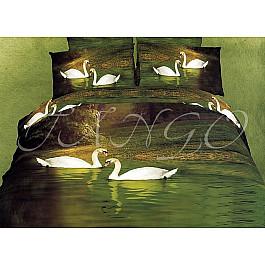 Постельное белье Tango КПБ Cатин дизайн 21A (1.5 спальный) цены