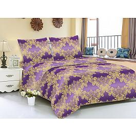 Постельное белье Amore Mio КПБ мако-сатин печатный Zara (2 спальный), фиолетовый детский костюм zara 2015 1 2 3