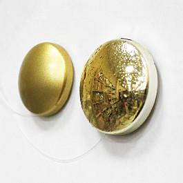 цена на Магнит для штор Ajur Набор магнитов Круг-01А, золотой