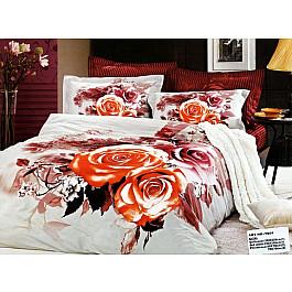 Постельное белье Tango КПБ Сатин дизайн 136 (Евро) постельное белье tango постельное бельесп евро page 9