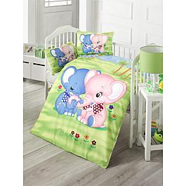 Постельное белье Tango КПБ Ясли Ранфорс Elephant (Новорожденный) кпб облачко день рожденья ясли