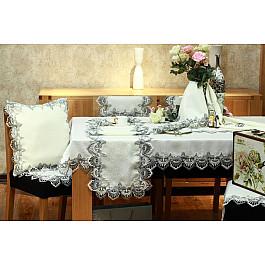Скатерти Tango Скатерть ABT дизайн 07, белая, серая, 150*220 см крестный путь игумена бориса