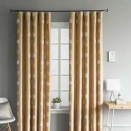 Шторы для комнаты Molly Комплект штор Флинт Золотой, 165*280 см ткань арта 1 п м 280 см цвет золотой