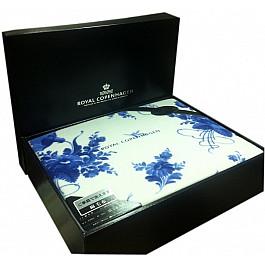 цена Плед Tango Плед хлопок Royal Copenhagen №01, синий, белый, 140*200 см онлайн в 2017 году