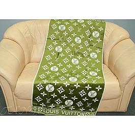 Полотенца Cestepe Банное велюровое полотенце Cestope LV жаккард, 70*140 см, зеленый все цены