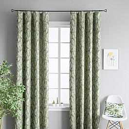 Шторы для комнаты Molly Комплект штор Веста Зеленый, 170*290 см комплект веста комплект