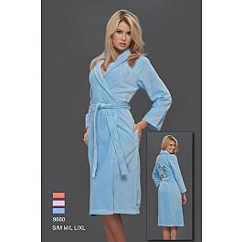 Халат женский Virginia Secret, Голубой, р. L/XL (48-50)