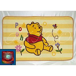 Детский коврик для ванной Pooh желтый, 50*80 см