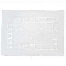 Коврик для ванной белый, 50х70 см