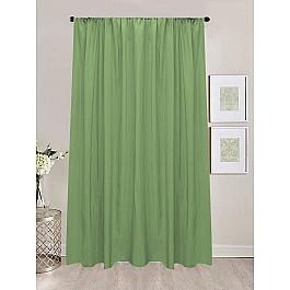 Шторы для комнаты Amore Mio Шторы сатен репс Amore Mio RR 90168-27, зеленый, 200*270 см цена