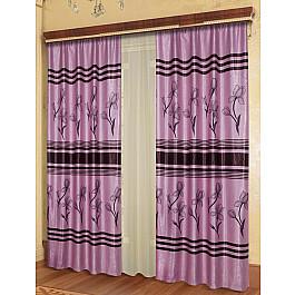 Шторы для комнаты Zlata Korunka Комплект штор №777209 комплект фототюля zlata korunka заход солнца