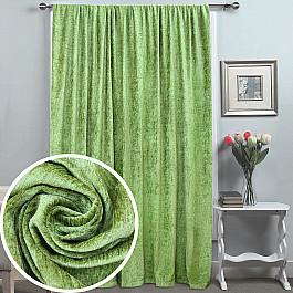 Шторы для комнаты Amore Mio Шторы RR 8135-3027, зеленый, 200*270 см цена