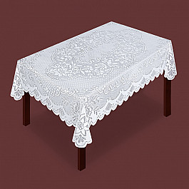 Скатерти Zlata Korunka Скатерть №80022, белая скатерть бум papstar soft 120х180см белая
