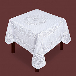 Скатерти Zlata Korunka Скатерть №80018, белая скатерть бум papstar soft 120х180см белая